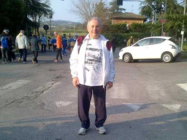 """Podismo - La maglietta """"S. Lazzaro - La mia impronta c'è !!! 2014"""" 1"""