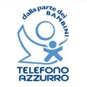 Logo del Telefono Azzurro - Fiori d'Azzurro