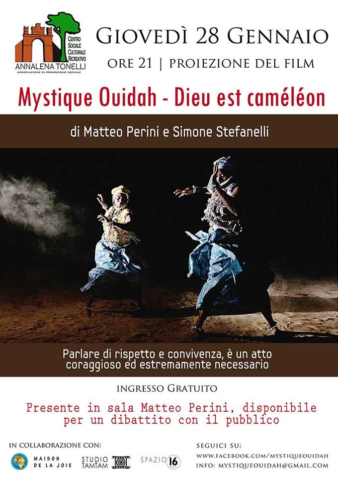 Proiezione Mystique Ouidah - Dieu est Caméléon